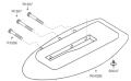 サプリナ CR-100A  裁断機用ベース R0432B