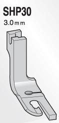 スイセイ SHP30  二ツ巻押え金 3.0mm【メール便可】