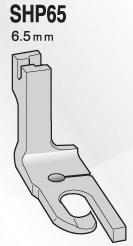 スイセイ SHP65  二ツ巻押え金 6.5mm【メール便可】