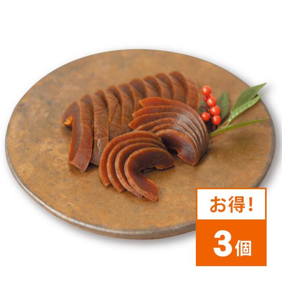 柴常 特選 奈良漬(3個セット)
