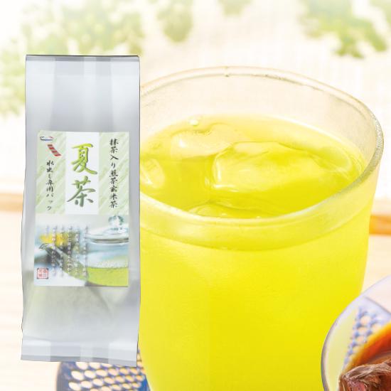 夏茶(抹茶入り煎茶玄米茶)<10g×10P>
