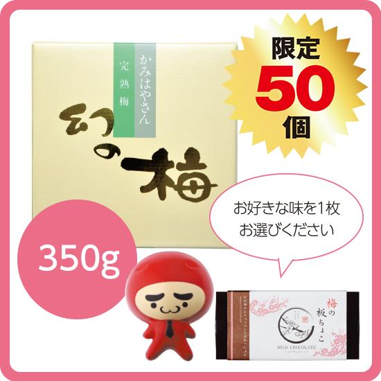 【送料無料】バレンタインセット1(幻の梅350g)