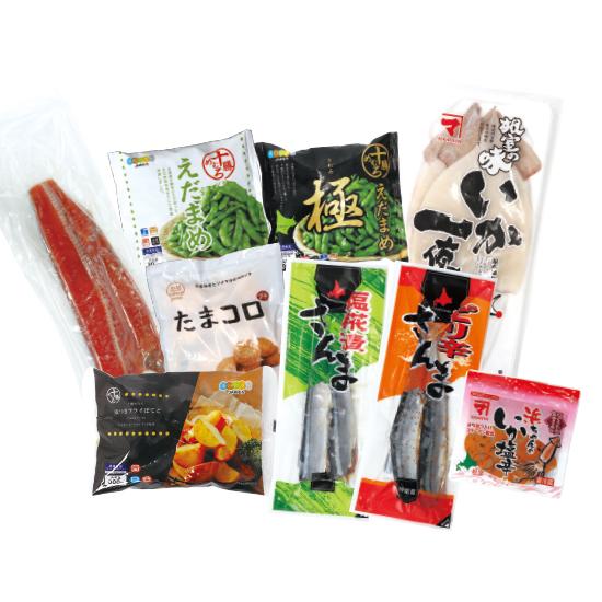 【送料無料】北海道 海山セット<発送日:7/20、7/31、8/7限定> ※包装不可
