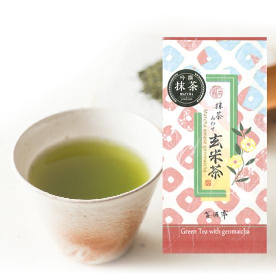 静岡茶通亭 抹茶あわせ玄米茶(100g×1個)