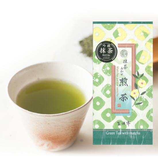 静岡茶通亭 抹茶あわせ煎茶(100g×1個)