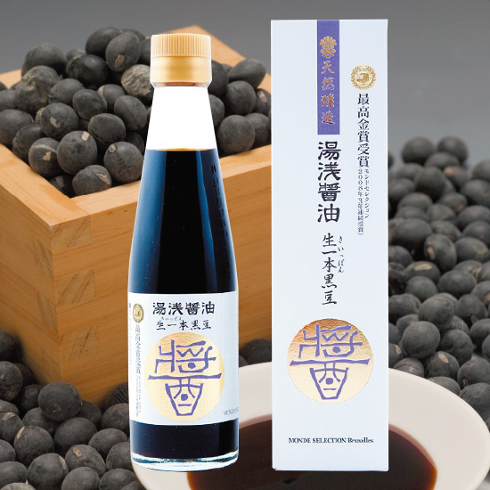 生一本黒豆醤油(200ml)