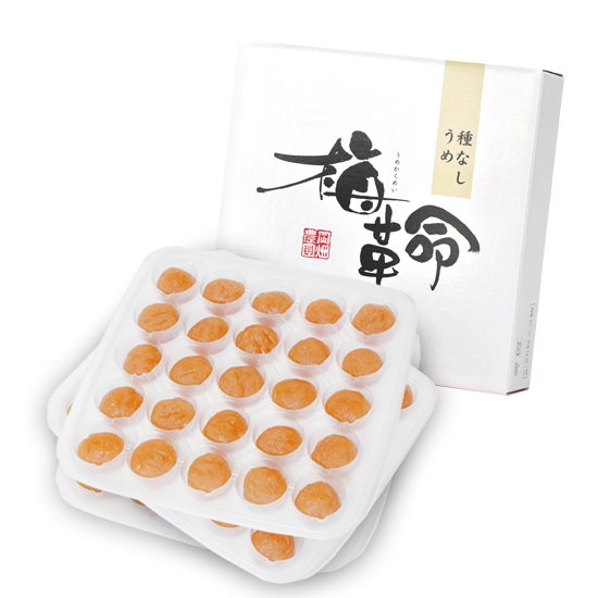 梅革命 デザート 75粒入 <種なし梅/塩分3%>