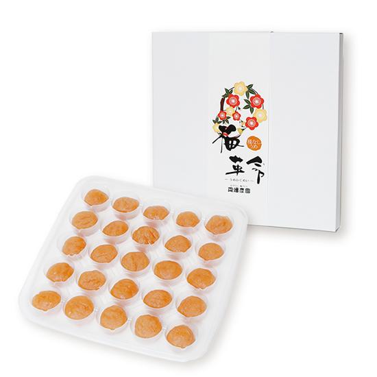 梅革命 デザート 25粒入 <種なし梅/塩分3%>