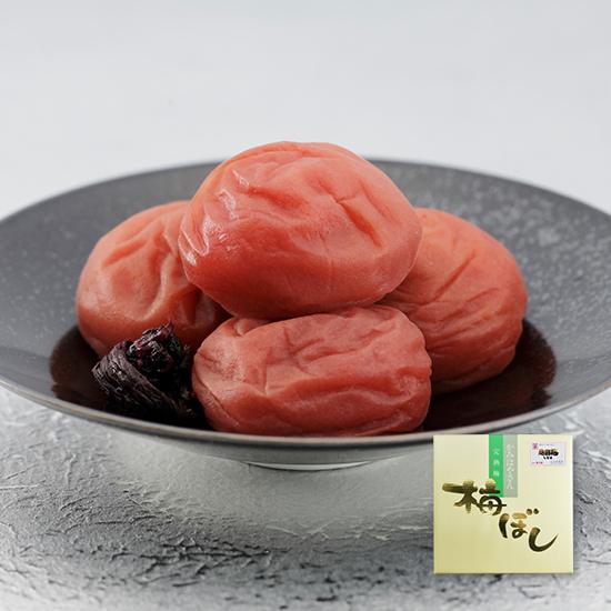 庭園梅しそ漬 500g(粒2L/約30粒) <塩分12%>