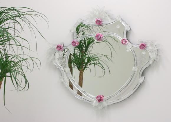 鏡 ミラー On103 ベネチアングラスミラー 壁掛けミラー インテリアミラー 卓上ミラー
