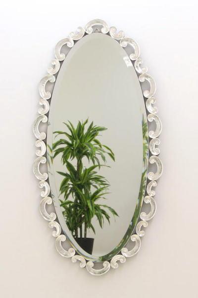 鏡 ベネチアングラスミラー onargoval125x65