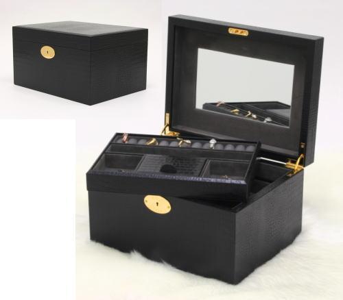 ジュエリーボックス wo9332-02 本革ジュエリーボックス