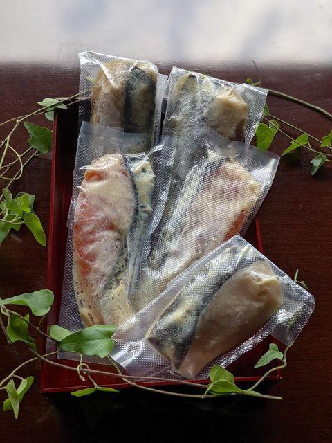 【ギフト】西京味噌漬3種類 5切れセット (冷凍)