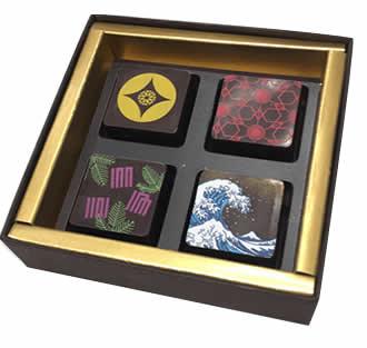 北斎チョコレートセット