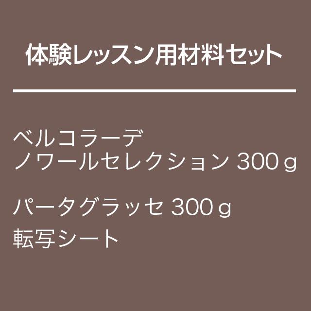 体験レッスン用 チョコレート材料セット