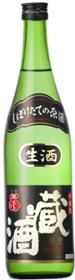 黒松翁 しぼりたて生原酒蔵酒 720ml