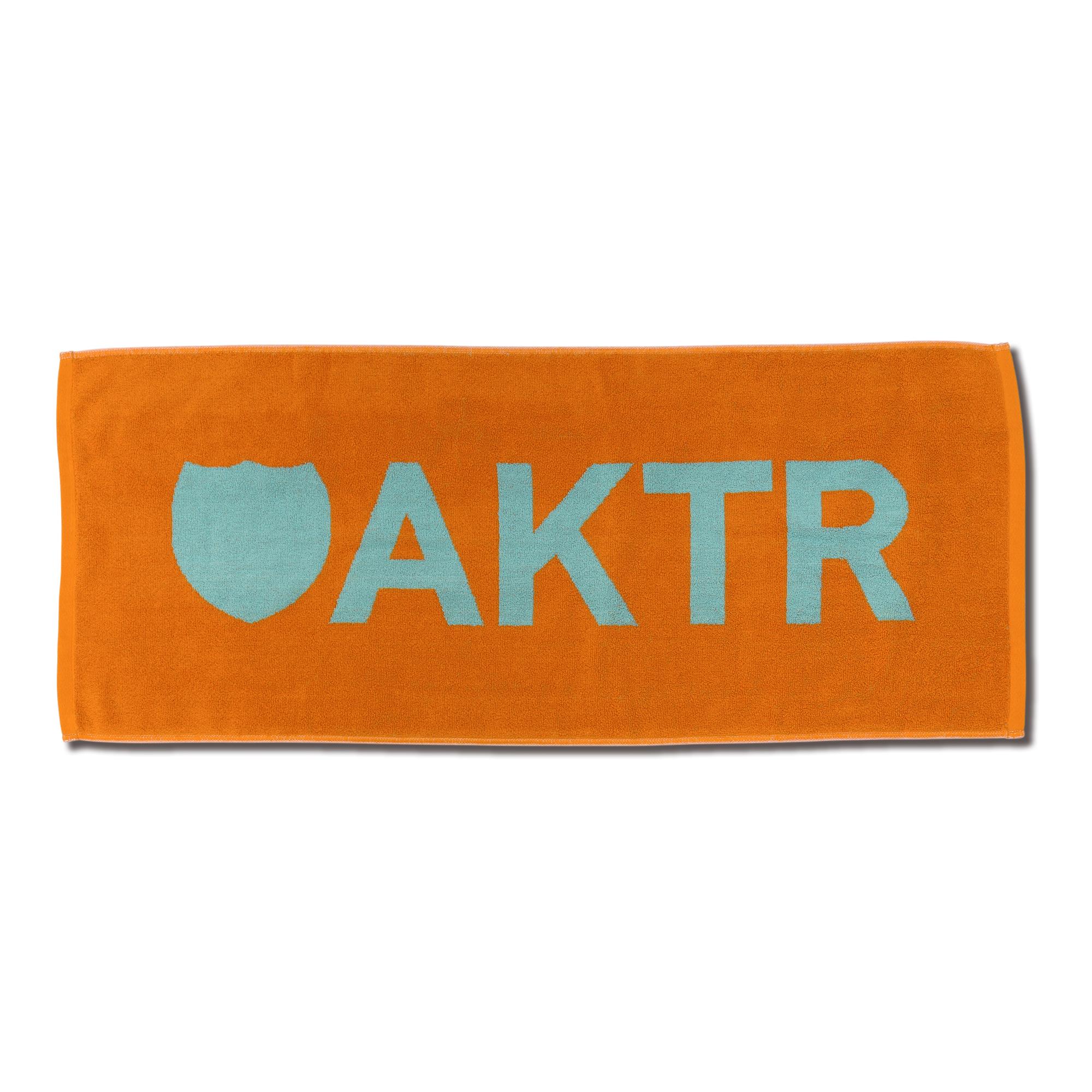 219-042021 / AKTR / SPORTS TOWEL LOGO / ORANGE / アクター / メンズ / バスケットボール / タオル