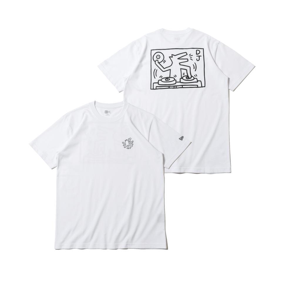 12674199 / NEW ERA / ニューエラ / 半袖 / コットン Tシャツ / レギュラーフィット / Keith Haring / キース・へリング / ドッグ