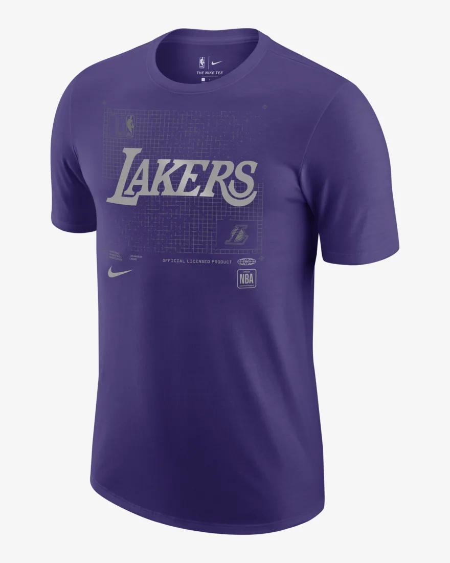 CV6015-547 / NIKE / ナイキ / ロサンゼルス レイカーズ / Tシャツ / バスケットボール