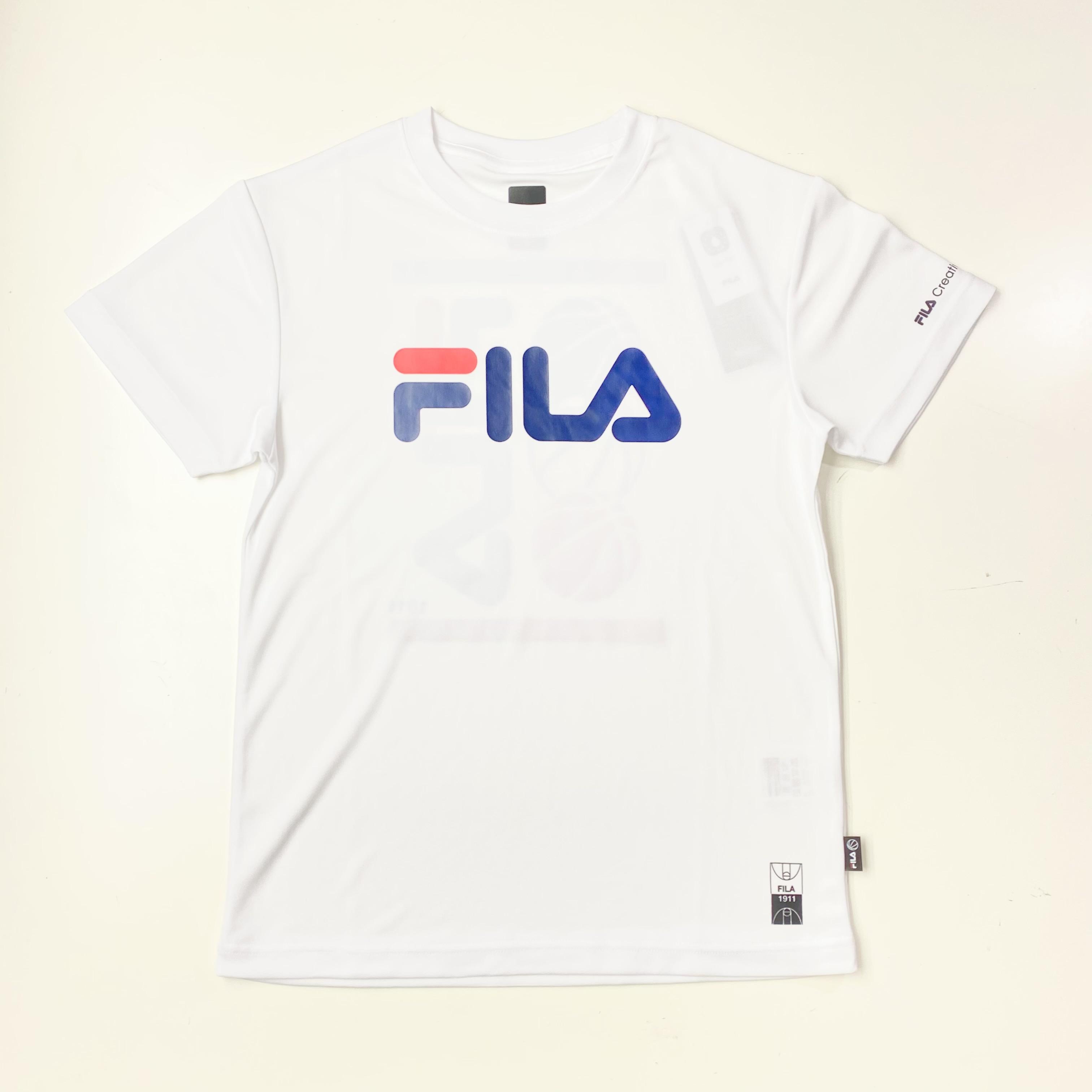 FS5007 / FILA / S/SCREWNECKSHIRT / フィラ / TEE / Tシャツ / メンズ / バスケットボール