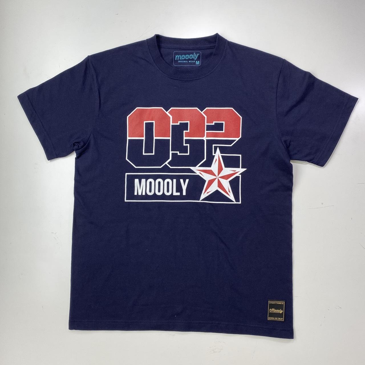 MLYTS-2004-NVY / Moooly / モーリー / 山内 盛久 / Tシャツ
