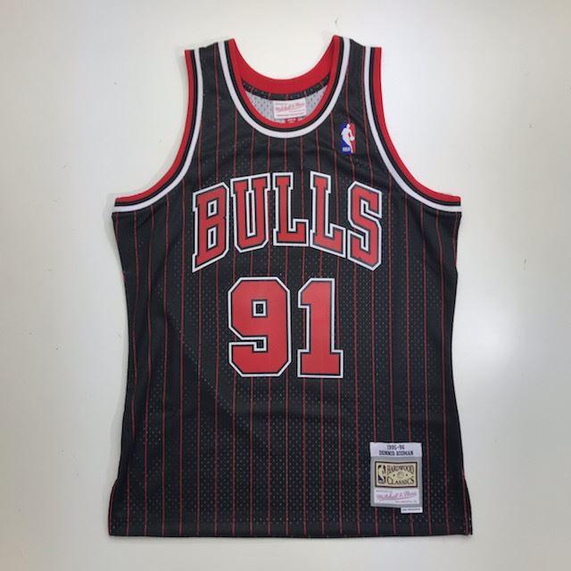 MN41JT36 / Mitchell & Ness / ミッチェル&ネス/CHICAGO BULLS / シカゴブルズ / NBA / スウィングマンジャージ DR / ブラック