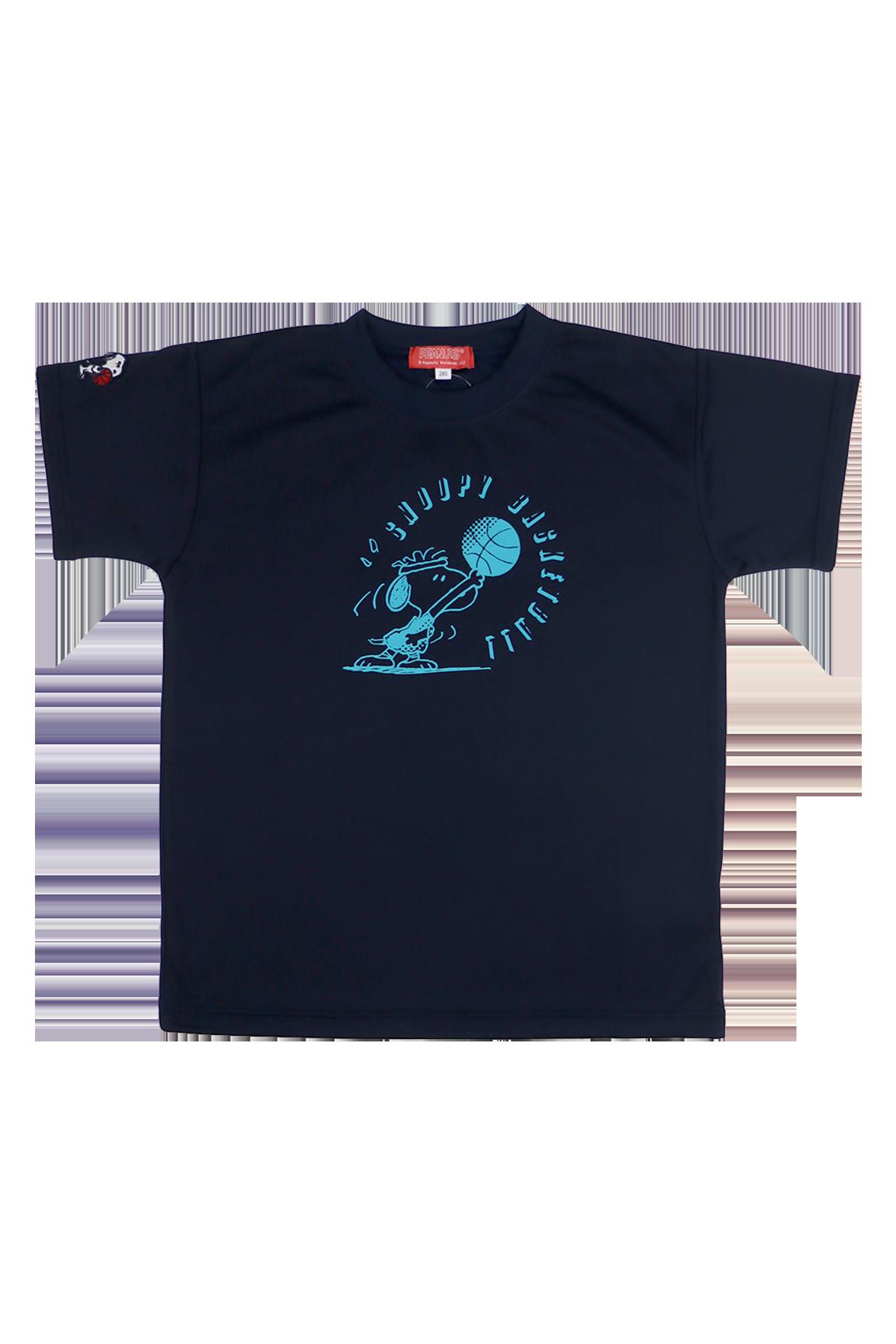 PNU-1585 /【2019春夏新作】 BALL LINE × PEANUTS / BASIC T-SHIRT / Tシャツ / プラクティスシャツ / ボールライン / SNOOPY / スヌーピー