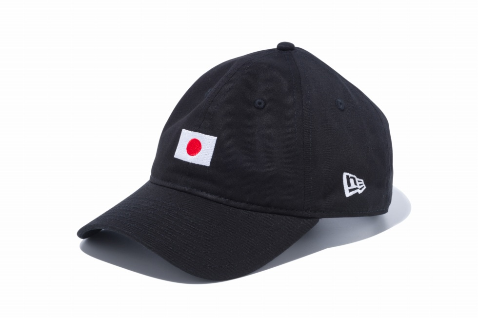 12026722 / NEW ERA / ニューエラ / 9THIRTY / クロスストラップ ナショナルフラッグ 日本 / ブラック