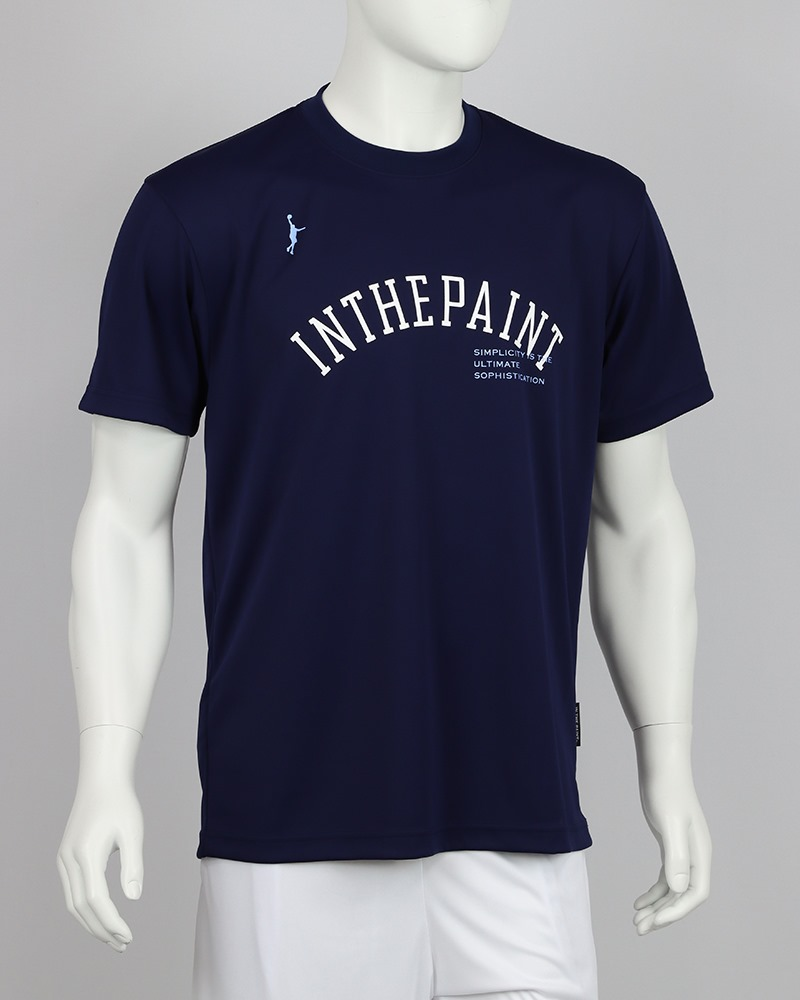 ITP21303 / 【2021春夏新作】 IN THE PAINT / インザペイント / Tシャツ / アーチプリント(ラメ加工)