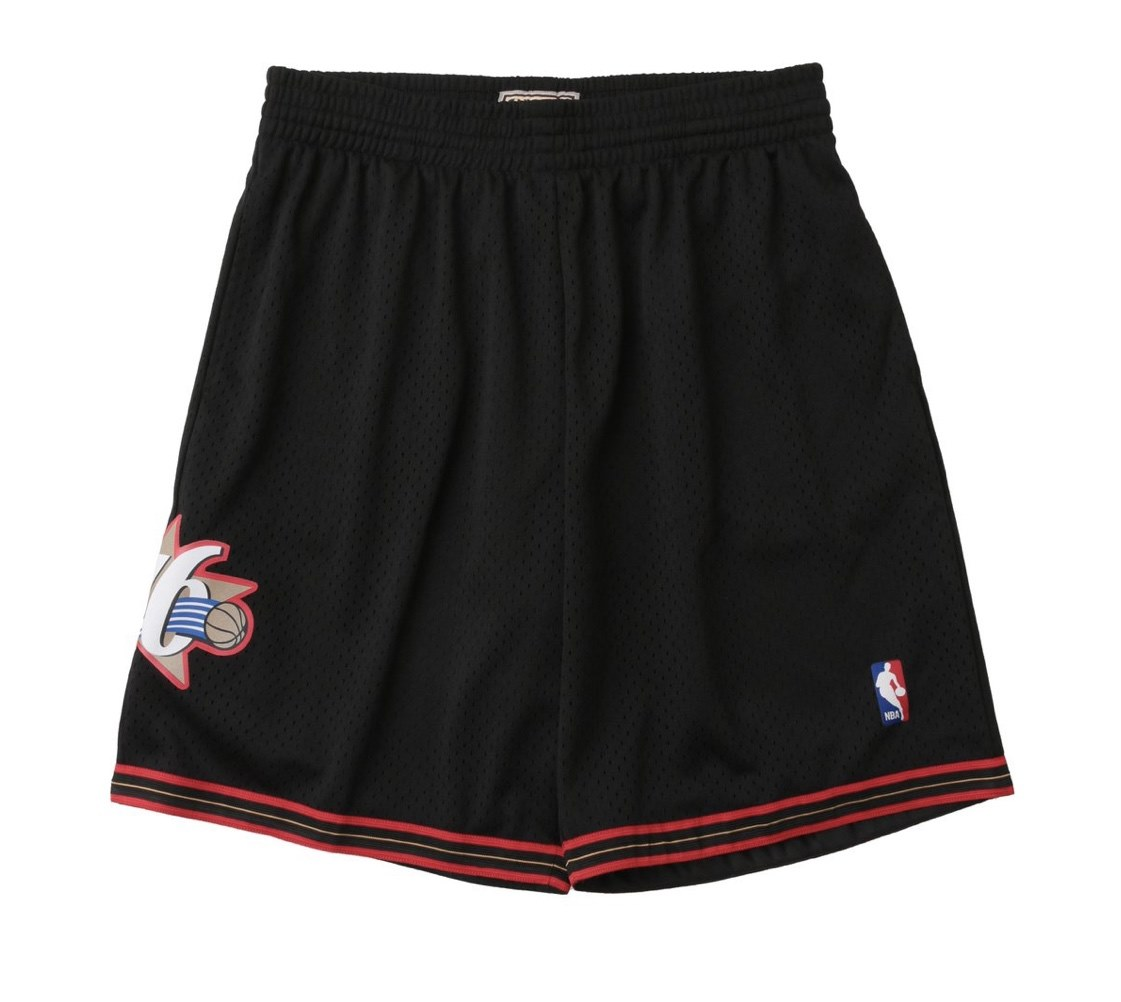 MN41JC11/ Mitchell & Ness /ミッチェル&ネス / Philadelphia 76ers /フィラデルフィア76ers /パンツ
