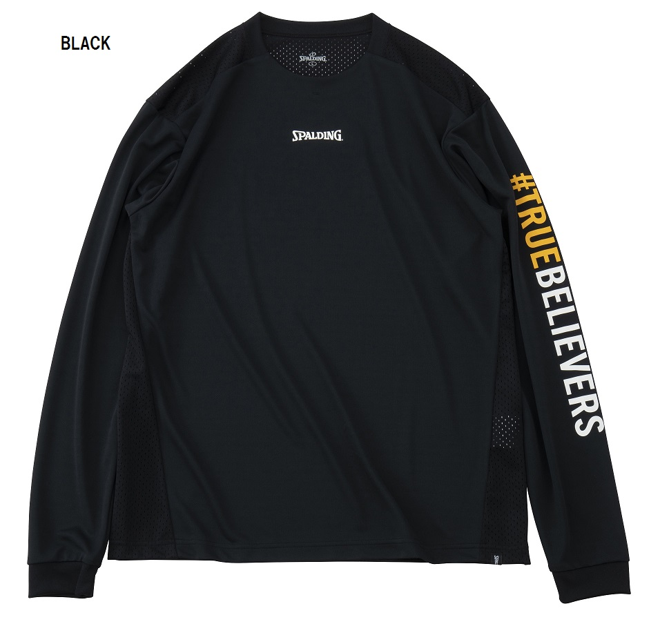 SMT191050 / SPALDING / ロングスリーブTシャツ / トゥルービリーバースリーブプリント  / バスケットボール / スポルディング