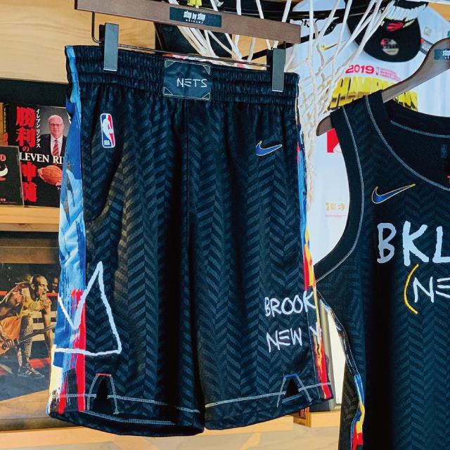 CN1964-010 / ナイキ NBA スウィングマン ショート / ブルックリン ネッツ シティ エディション