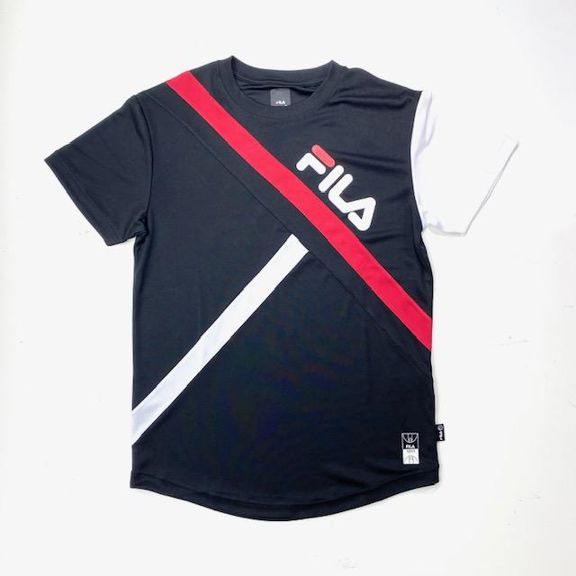FS5009 / FILA / S/SCREWNECKSHIRT / フィラ / TEE / Tシャツ / メンズ / バスケットボール