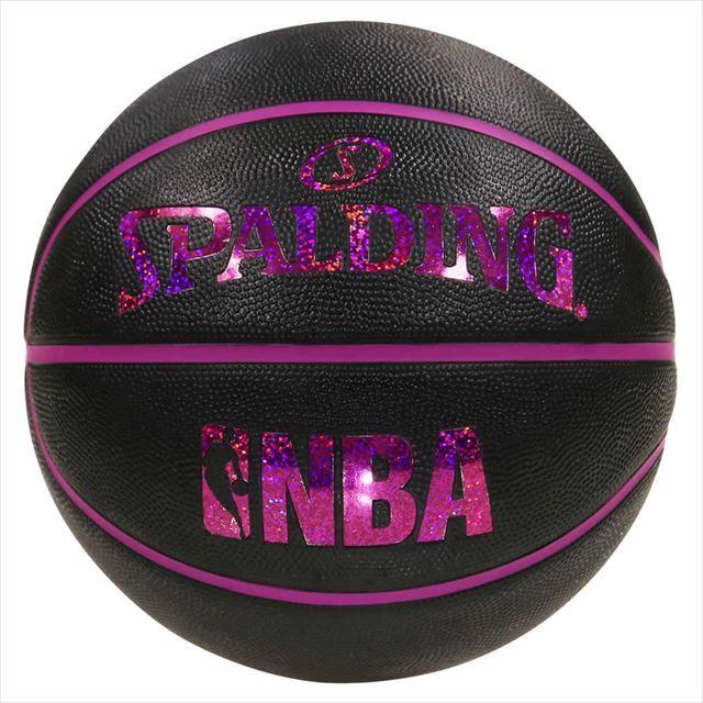 SPALDING / ホログラム ラバー 5号球 NBAロゴ入り 83-795J