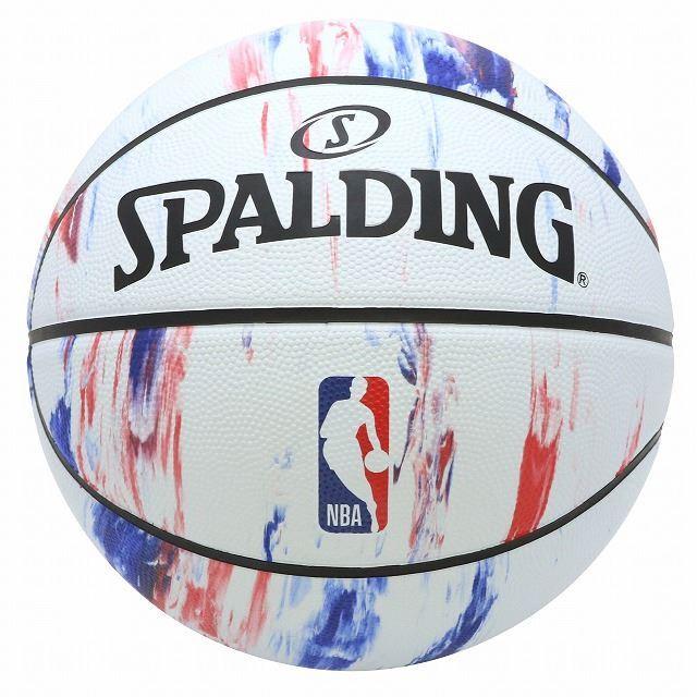 SPALDING /NBAロゴ マーブル ラバー 7号球 NBAロゴ入り 83-934J