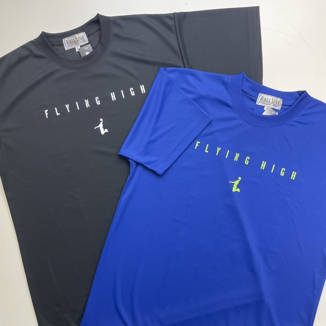 FHT-2112 /【2021春夏新作】 / FLYING HIGH / フライングハイ / 当店限定商品 / BALL LINE(ボールライン)×STEP BY STEP / Tシャツ