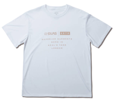121-073005-WH / AKTR / アクター / Tシャツ / SILAS TEE WHITE