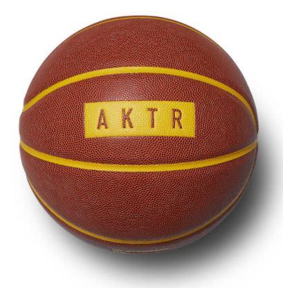 121-078021-ORANGExYELLOW / AKTR / アクター / xTACHIKARA BASIC BALL/ ボール / 7号球