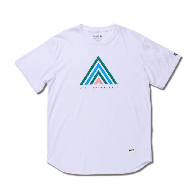 119-071005-WH / 【2019春夏新作】 / SYMBOLIC A TEE / WHITE / Tシャツ / AKTR / アクター / メンズ / バスケットボール