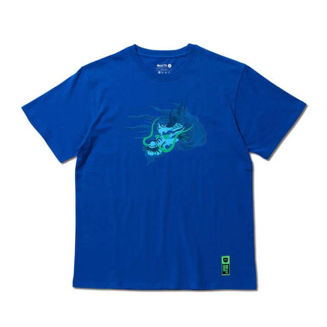 119-104005 / Andrew Kirin FACE TEE / BLUE / Tシャツ / AKTR / アクター / メンズ / バスケットボール