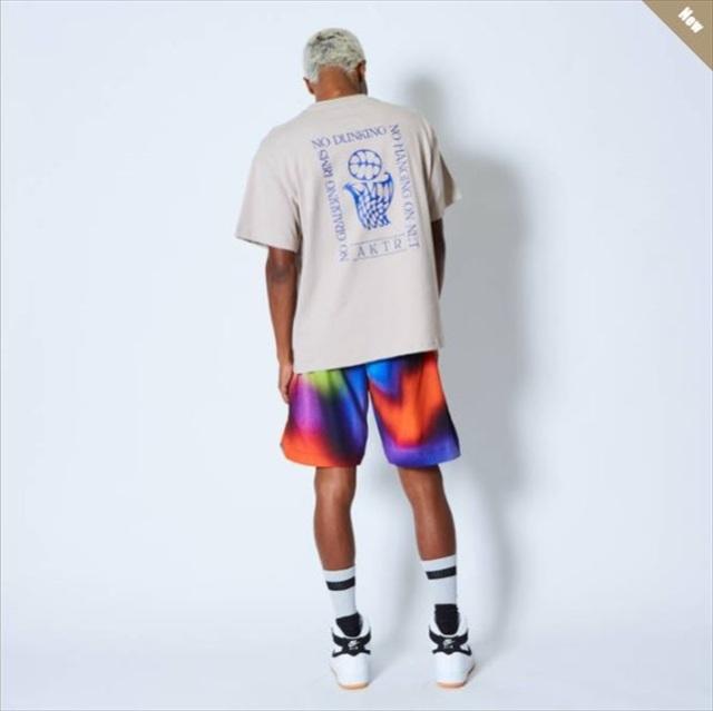 121-006005-BG / AKTR / アクター / Tシャツ / NO DUNKING TEE BEIGE