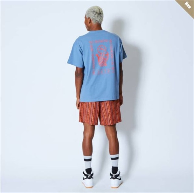 121-006005-BL / AKTR / アクター / Tシャツ / NO DUNKING TEE BLUE