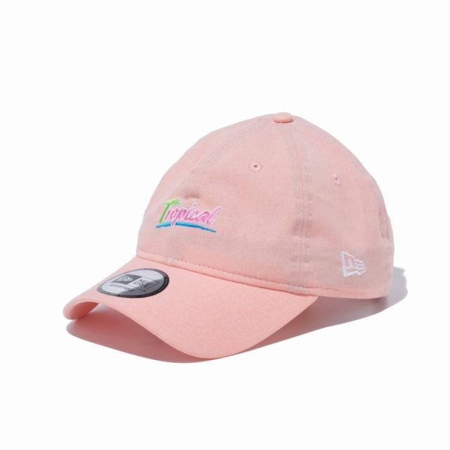 12326317 / NEW ERA / ニューエラ / キャップ / 9THIRTY トロピカル Tropical ピンク × スノーホワイト/0109SALE