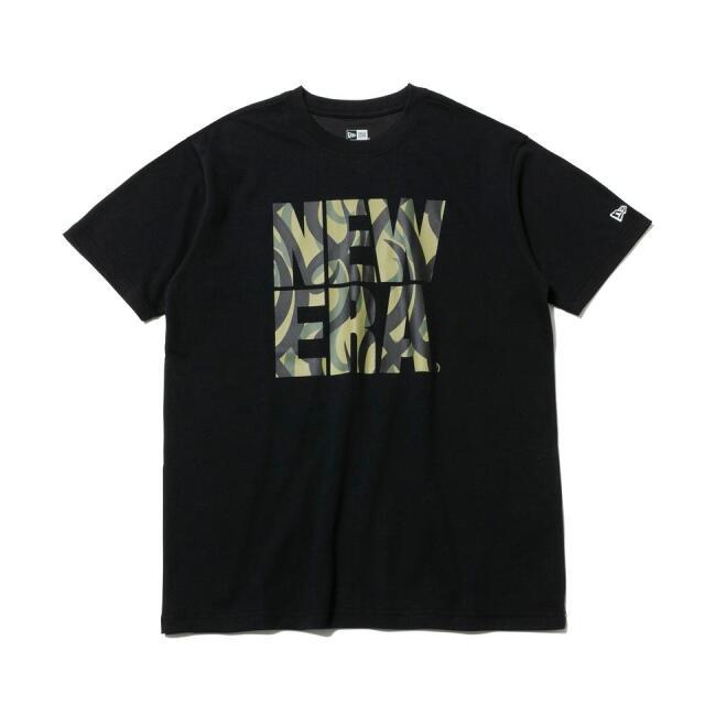 12542596 / NEW ERA / ニューエラ / 半袖 / パフォーマンス Tシャツ / トライバルカモ / スクエアロゴ / レギュラーフィット/0109SALE