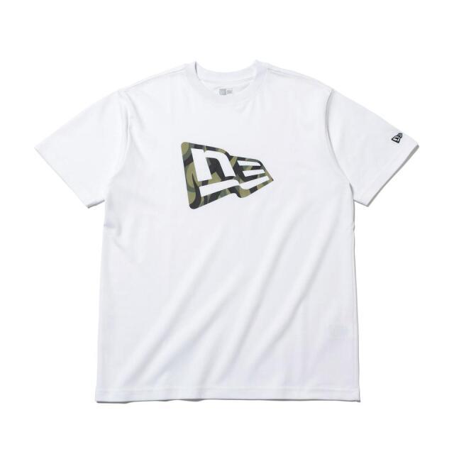 12542600 / NEW ERA / ニューエラ / 半袖 / パフォーマンス Tシャツ / トライバルカモ / フラッグロゴ / レギュラーフィット/0109SALE