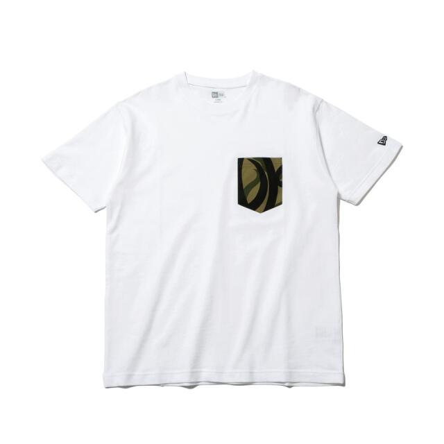 12542602 / NEW ERA / ニューエラ / 半袖 / パフォーマンス Tシャツ / トライバルカモ / フラッグロゴ / レギュラーフィット/0109SALE