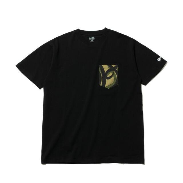 12542603 / NEW ERA / ニューエラ / 半袖 / パフォーマンス Tシャツ / トライバルカモ / フラッグロゴ / レギュラーフィット