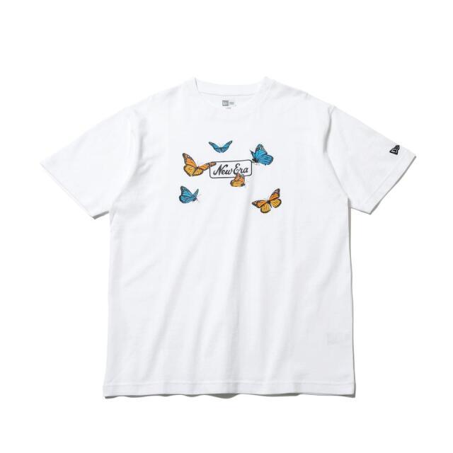12542615 / NEW ERA / ニューエラ / 半袖 / コットン Tシャツ / バタフライズ / レギュラーフィット/0109SALE