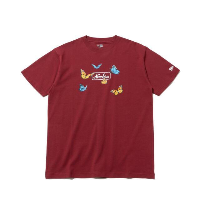 12542616 / NEW ERA / ニューエラ / 半袖 / コットン Tシャツ / バタフライズ / レギュラーフィット/0109SALE