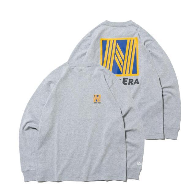12542693 / NEW ERA / ニューエラ / 長袖 / コットン Tシャツ / ニューエラ ロゴシリーズ / レギュラーフィット